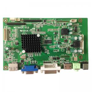 MST9XGA 2K Resolution LCD Controller Board with DP VGA DVI