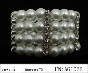 China Factory Price Pearl Bangles/Bracelets, Austria Artificial Women Pearl Bracelet/Bangles on sale