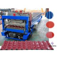 Steel Plate Wall Roof Panel Roll Forming Machine 380V 50Hz 3 Phases\