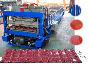 China Steel Plate Wall Roof Panel Roll Forming Machine 380V 50Hz 3 Phases\ on sale