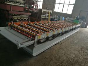 China Steel Sheet Corrugated Iron roller machine 9 Rows For Wall / Roof Making on sale