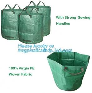 China portable plastic garden grow bags,China Manufacturer Durable PE 6Mil Hydroponics Grow Bag,Skyplant Gallon Non Woven Fabr on sale