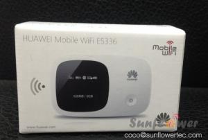 China HSPA+ Portable 3G Wireless Router Huawei E5336 3G 21.6Mbps Pocket WiFi Router on sale