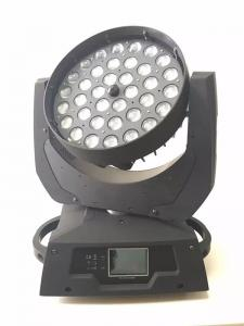 China colorful led zoom wash stage light stage equipment 36pcsx10w rgbw moving head light on sale