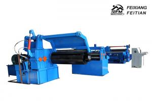 China FX3-1250mm Metal Steel Coil Slitting Line , Sheet Metal Shearing Machine For Uncoiling on sale