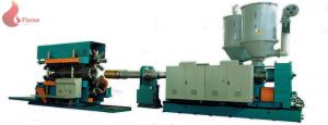 China Double Wall corrugated pipe extrusion line Single / Twin Screw Extruder HDPE/PVC/PP on sale