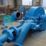 Small Rc Jet Turgo Turbine Generator , Mini Hydro Generator 70kw To 700kw