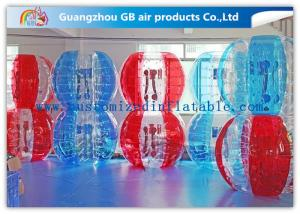 China 1.5m PVC  Human Inflatable Bumper Ball , Buddy Bounce Outdoor Play Ball on sale