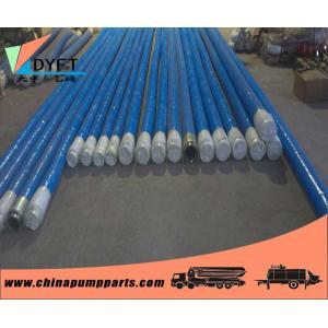 China Concrete Pump Rubber Hose DN125*4m , 4 layer double flange for concrete pump truck/trailer on sale