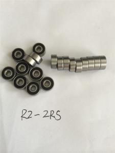 China Speed Reducer Miniature Flange Bearing MF72ZZ No Vibration And Friction on sale