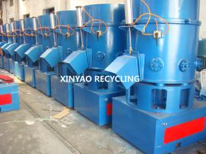 China PP foam PS PET fibres Plastic Agglomerator Machine / Plastic Recycling Plant on sale