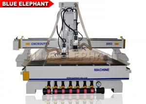 China Vacuum Pump ATC CNC Router Electronics Cast Steel Gantry Moving Type on sale