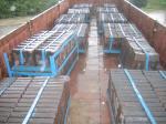 Dureté de revêtements de moulin de ciment de l'acier Cr-MOIS allié plus que HRC50