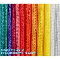 Eco-friendly FDA Certificate Plastic Vegetable Pack Raschel Mesh Bag,pe raschel net bag&pp raschel mesh bag