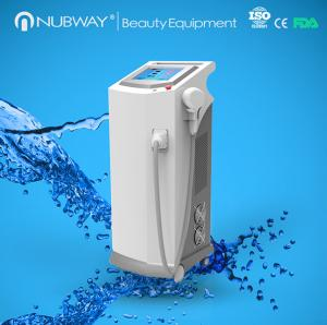 China FDA Cleared World First Fiber Coupled painless 808 Diode Laser hair removal machine on sale