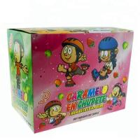 China HALAL Fruit Flavor Lollipop Popping Candy Ice Skates Shape Multi Color on sale