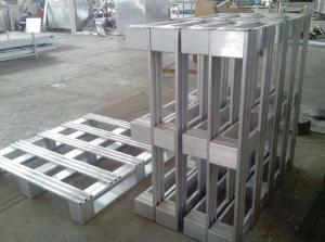 China Single Faced Style and Aluminum Material Aluminum Pallet on sale