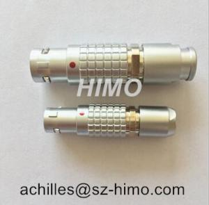 Quality Egg.1B.304. 4 PIN push pull self-locking audio video connector female lemo fixed for sale