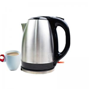 China Hotel Large Capacity  1.8L Electric Kettle Stainless Steel CE CB Certification on sale