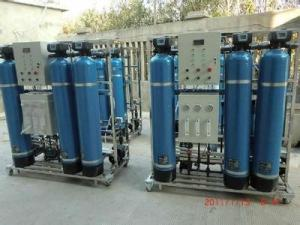 China 440V RO Water Purifier Plant Chlorine Water Purification BV CCS Certification on sale