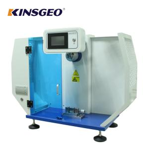 China Digital Izod Plastic Testing Machine 25j 50j 80kg With Big Energy Range on sale