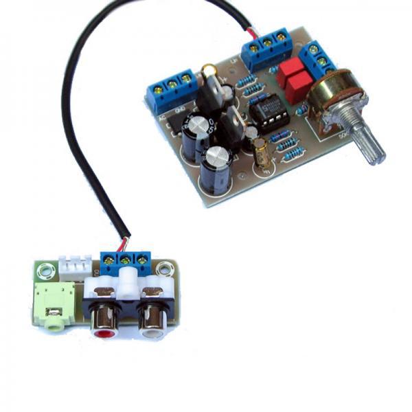 NE5532 Preamp Tone Board Amplifier Kit 3 5mm RCA Terminal Breakout