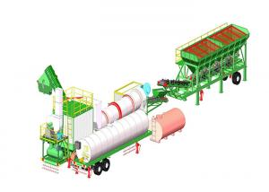China 20TPH to 120TPH  Continuous Asphalt Mixing Plant / Asphalt Drum Mixers on sale