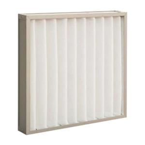 China Washable Clean Room Pleated Panel Air Filters Pre Filter Synthetic Fiber on sale