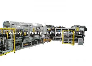 China Fully Automatic Radiator Production Line , Aluminium  Assembly Line on sale