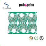 China TG130 FR4 double sided pcb  with 2.0 thickness 2 layers pcba wholesale