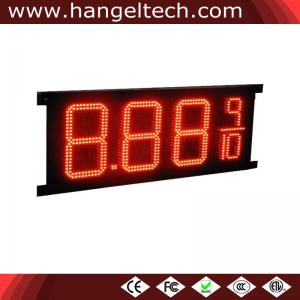 China 10 Inches Outdoor High Brightness LED Digital Gas Price Signs - 8.88 9/10 on sale
