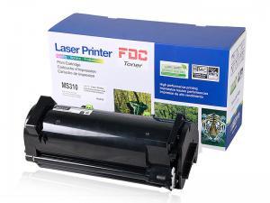 China MS310D Laserjet Ink Cartridges For Lexmark Laser Printer 1.5k Pages Yield on sale