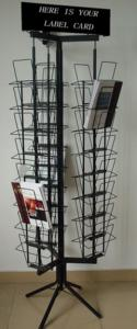 China HRH442 display stand,brochure display stand, book exhibition stand, magazine display rack on sale