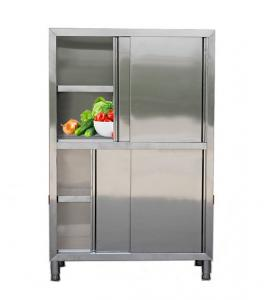 China Environmentally Friendly Vertical Storage Cabinet With 4 - Door Large Capacity on sale