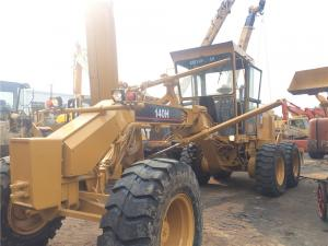 China 140H Used Motor Grader Secondhand Road Machinery Caterpillar With Ripper on sale