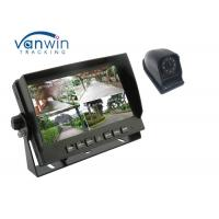 4CH High Definition 7inch Quad Car Monitor with 4 1080P Cameras for Truck