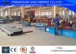 GCr15 C Z Purlin Roof Panel Roll Forming Machine With PLC Control System ON SALE ON SALE