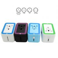 China Small AC Dual USB Travel Charger Adapter , Power Travel Adaptor With USB Port on sale
