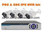 New Revolutionary New Technology PoC &  EoC IP Cameras NVR Security Kits