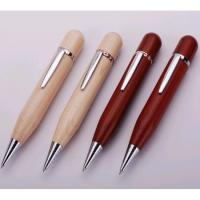 China eco wood pen usb flash drive with free logo engraved on sale