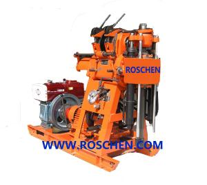 China Geological Exploration Trailer Mounted Diamond Core Drilling Rig Machine For Wireline Core Drilling on sale