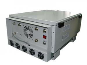China Gray Waterproof Anti Drone Signal Jammer With High Output Power , OEM / ODM Service on sale