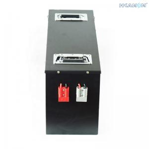 China LiFePO4 Forklift Lead Acid Battery , Hyster Forklift Battery Charger Hight Motive Power on sale
