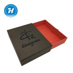 China Colorful Men Apparel Packaging Boxes / Custom Printed Gift Boxes With UV Logo on sale