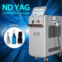 China 2000mj Q Switch Nd Yag Laser Tattoo Removal Machine With Pedal Control on sale