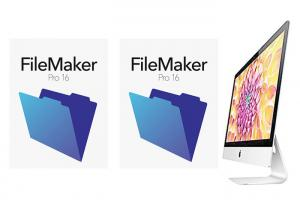 China Genuine FileMaker Pro 16 Retail Box Package Multi Language For MAC on sale