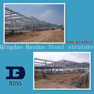 China Economic Steel Structure Warehouse , Prefabricated Steel Structure on sale