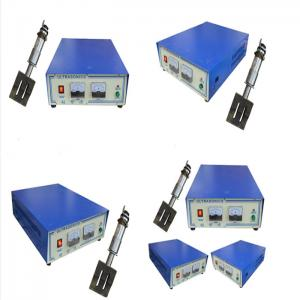 China Ultrasonic welding generator transducer horn machine for non-woven N95 masks machine on sale