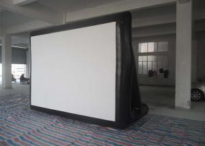 China Outdoor 0.55mm PVC Tarpaulin Inflatable Model , Inflatable Movie Screen For  Family / Party Time on sale