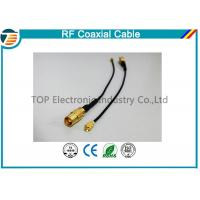 Right Angle RF Broadband Coaxial Cable Outdoor Coaxial Cable  For Car